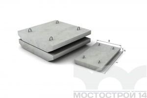 Блок плиты П-2