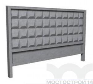 Забор бетонный ЗБ